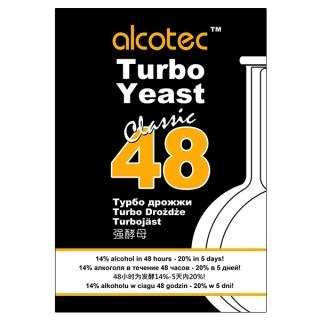 Спиртовые дрожжи Alcotec 48 Turbo 130г
