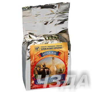 Дрожжи спиртовые ароматные «Мята» 100 гр