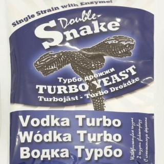 Турбо-дрожжи Doublesnake Vodka turbo