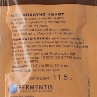 Дрожжи пивные сухие SAFBREW BE-256