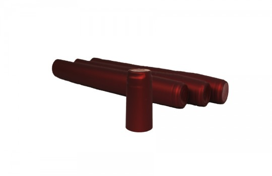 Термоколпачок для винных бутылок. Красный, 100 шт